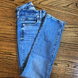 Madewell 9in high rise skinny jean. Size 25
